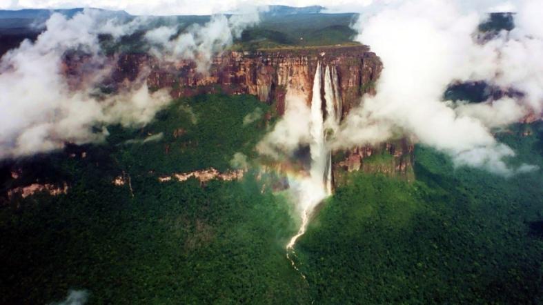 cataratas del ángel venezuela