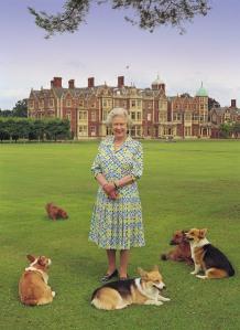 HM The Queen at Sandringham, UK