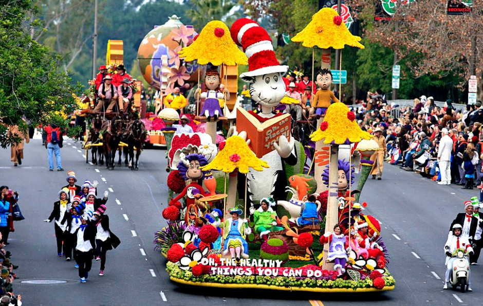 The 124th Tournament of Roses Parade