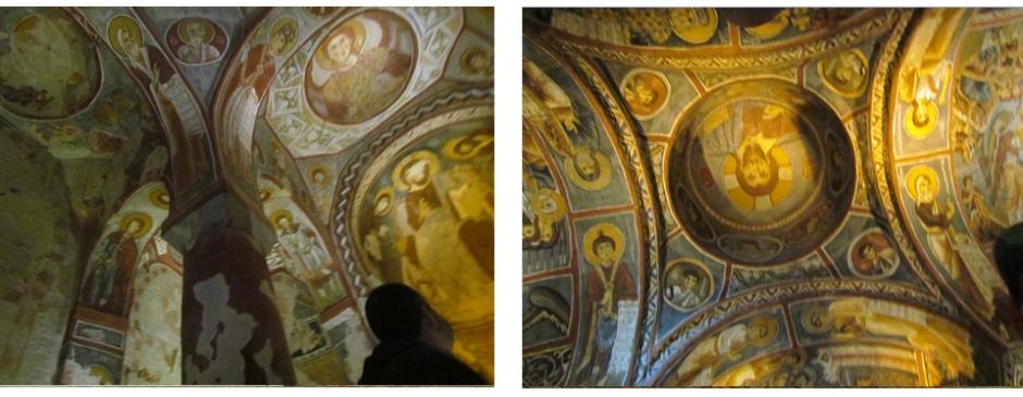 pinturas rupestres de Goreme